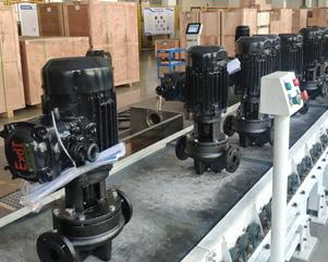 我司电机在南元泵业的应用